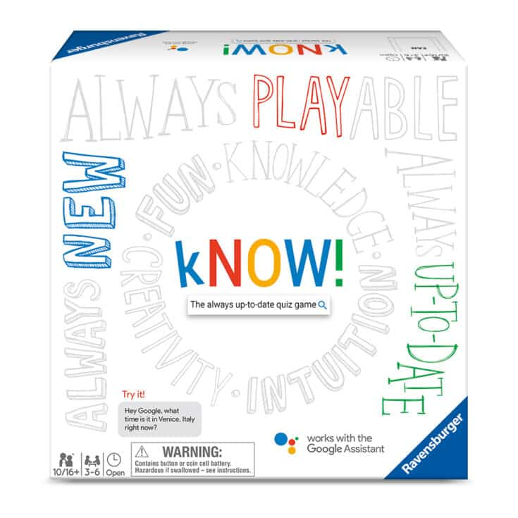 kNOW! Family Board Game, The Always Up-to-Date Quiz Game, 3-6 Players, Ages 10+ - Walmart.com