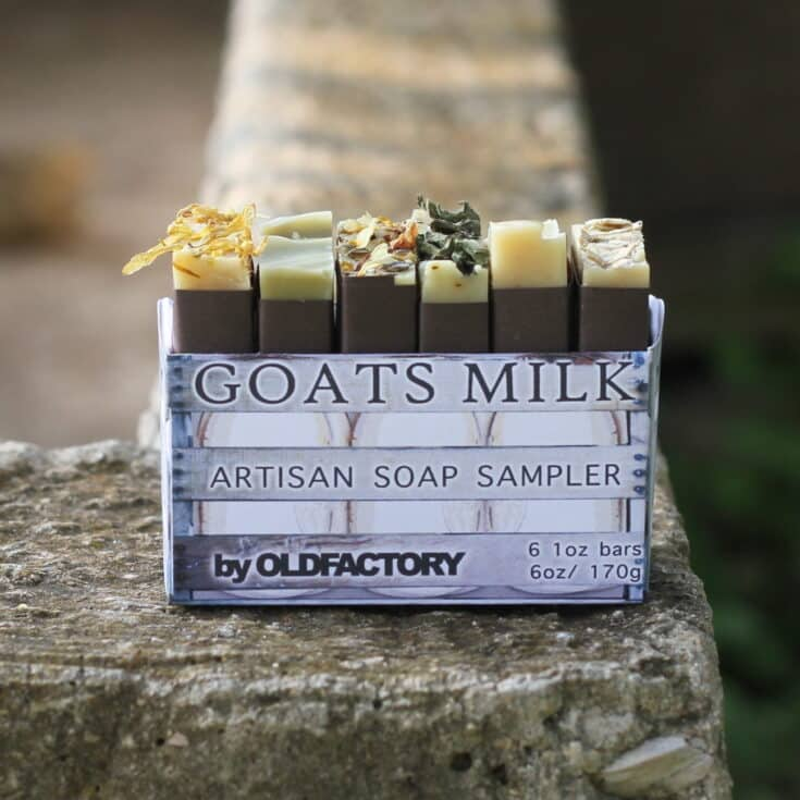 Goats Milk Soap Sampler