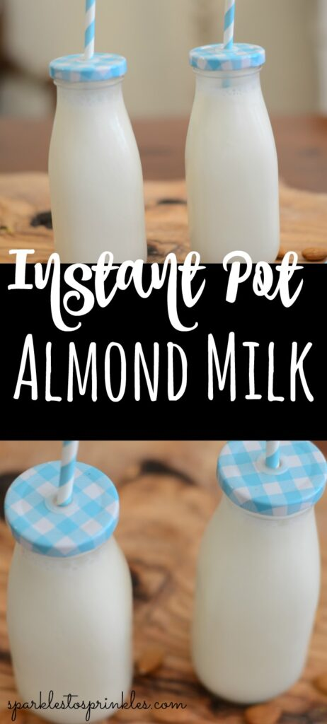 Instant Pot Almond Milk