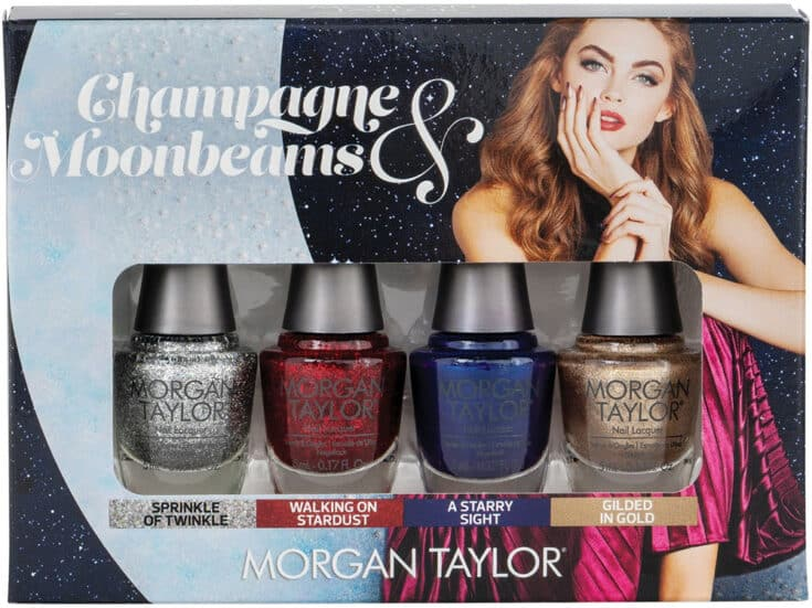 Morgan Taylor Champagne & Moobeams Glam Mini 4 Pack | Ulta Beauty