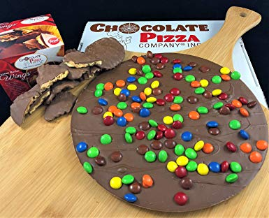 Chocolate Pizza®, Candy Topped, 16 Ounce and Peanut Butter Wings®, 8 Ounce, Made in USA