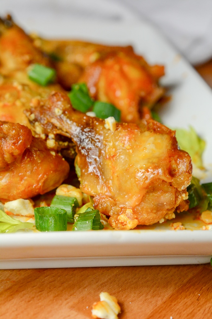 Instant Pot or Ninja Foodi Crispy Buffalo Wings
