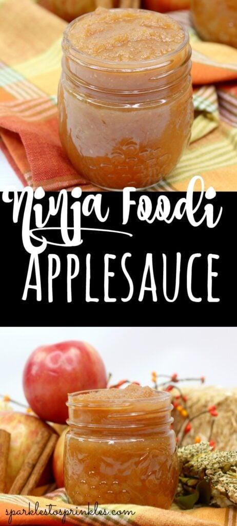 Ninja Foodi Applesauce