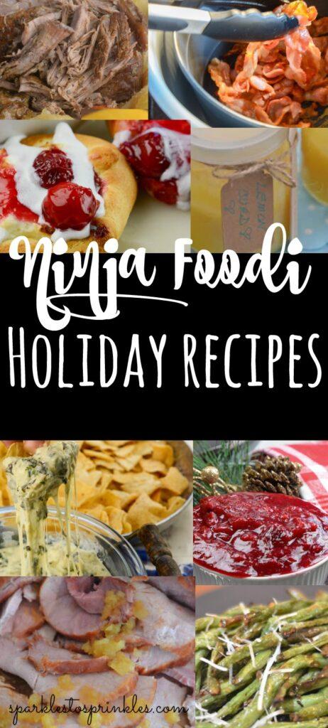 Ninja Foodi Holiday Recipes