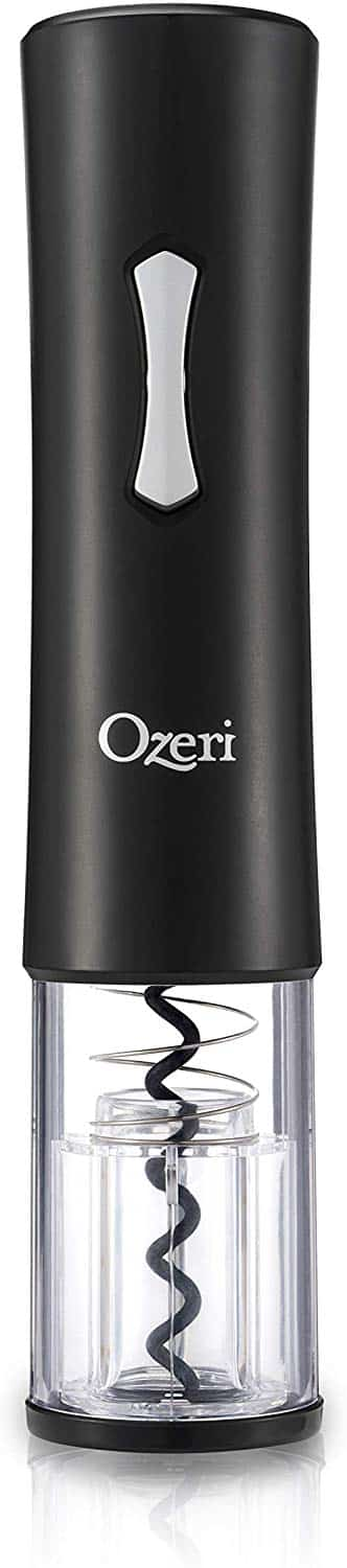 Ozeri OW13A Gusto Electric Wine Bottle Opener, One Size, Black