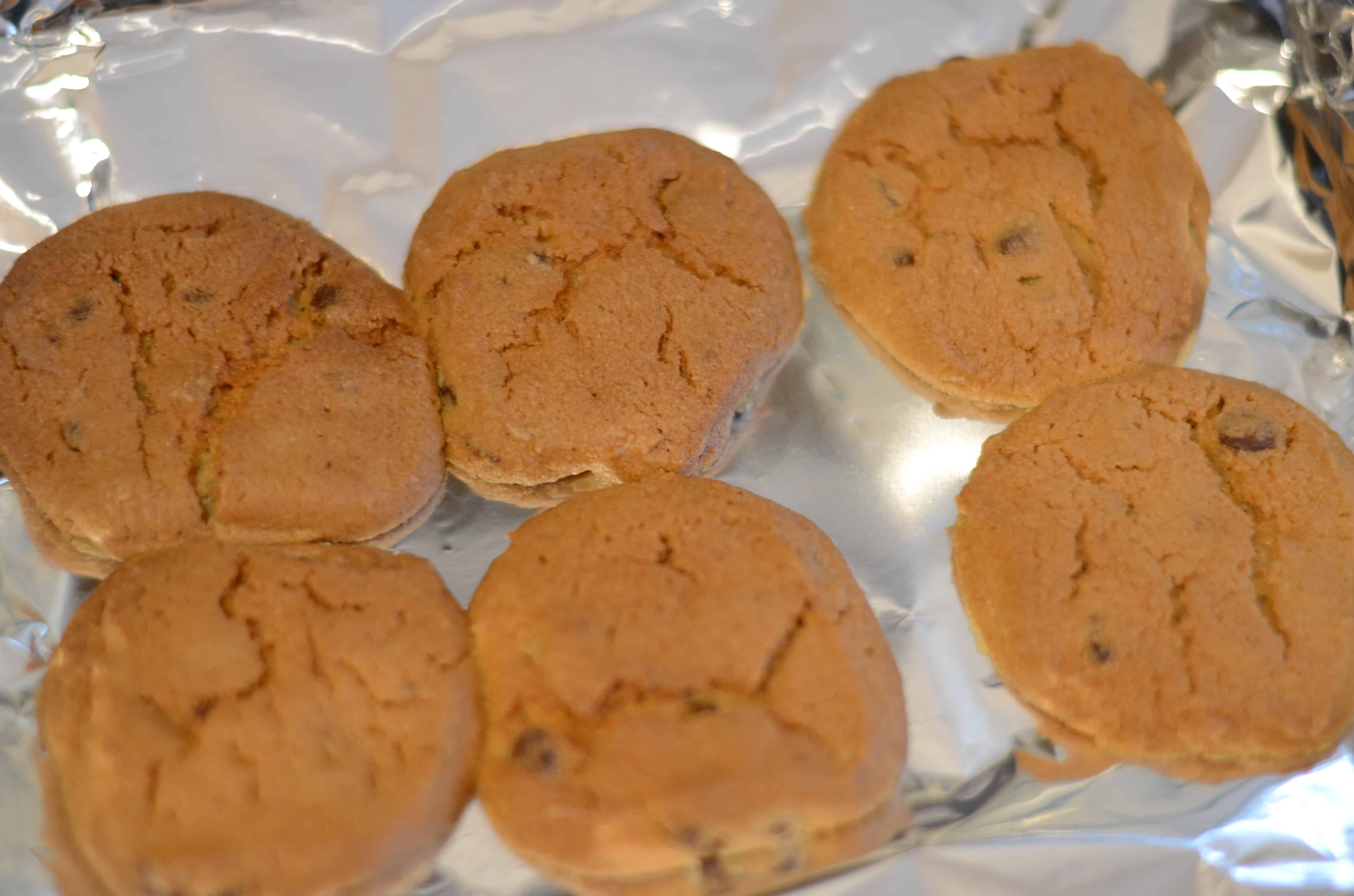 Instant Vortex Air Fryer Refrigerator Dough Chocolate Chip Cookies
