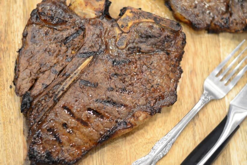 Ninja Foodi Grill Marinated Juicy Grilled Ribeye Steak