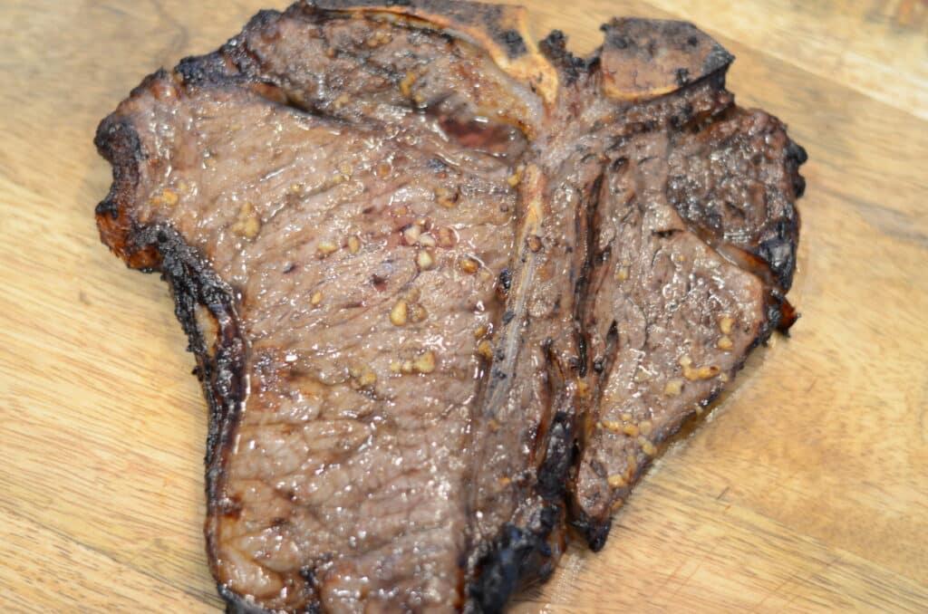 Ninja Foodi Marinated Juicy Air Fried Ribeye Steak