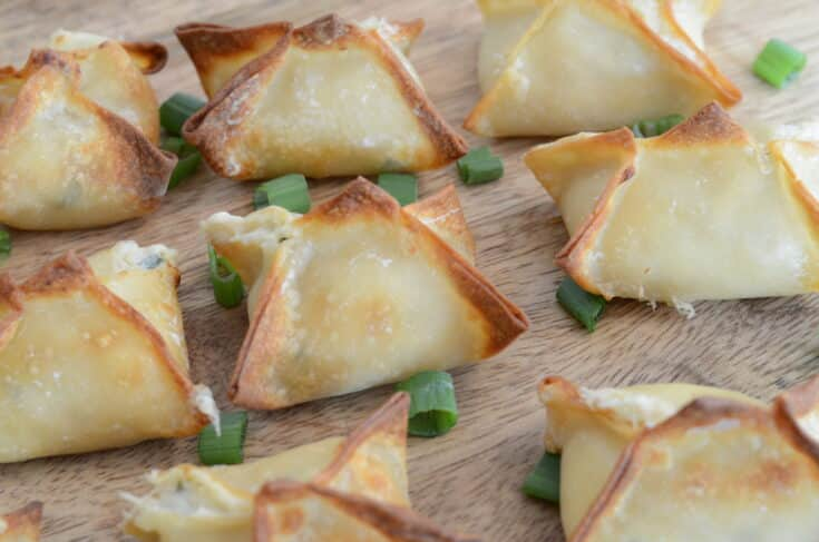 Air Fryer Crab Rangoon