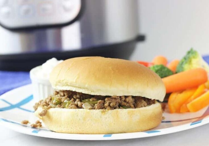 How To Make Crumble Burgers In Instant Pot