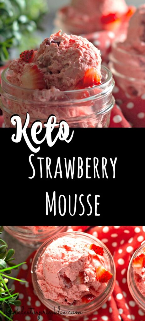 Keto Strawberry Mousse