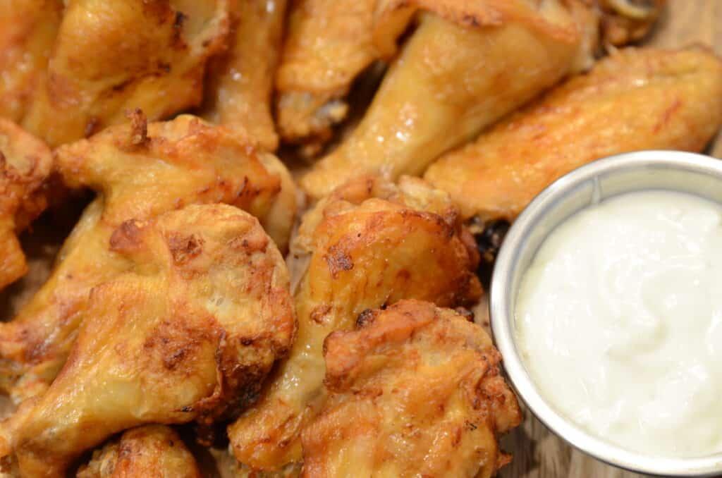 Air Fryer Crispy Chicken Wings