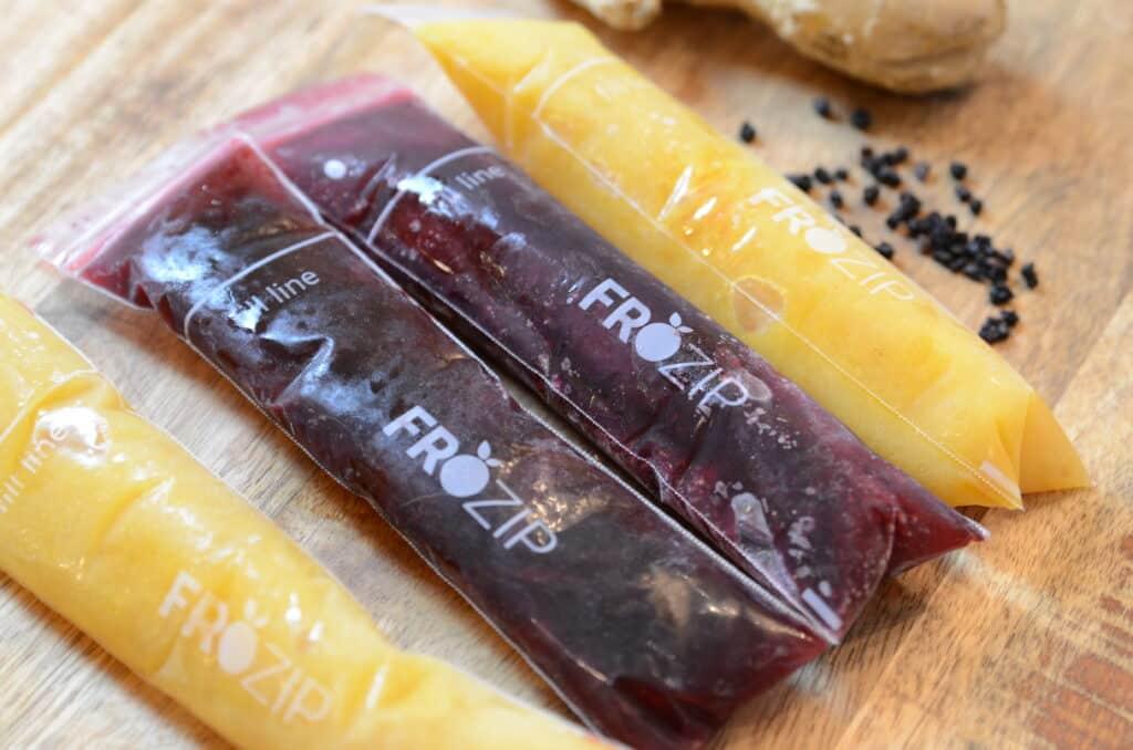 Instant Pot Elderberry Popsicles