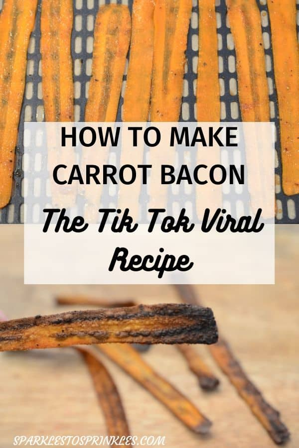 how to make carrot bacon
