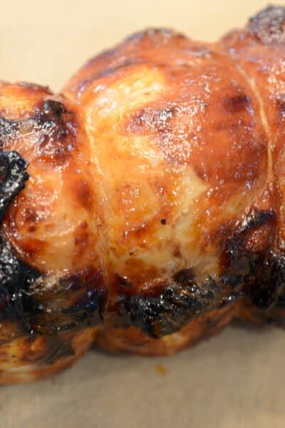 Air Fryer Rotisserie Pork Loin