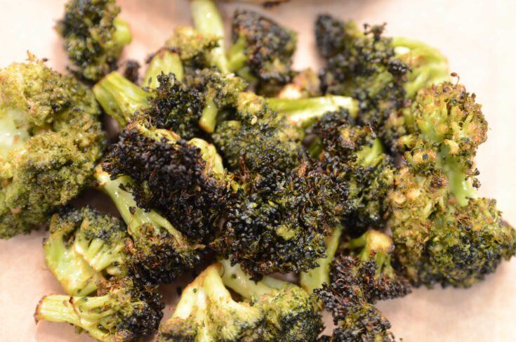 Ninja Foodi Grill Grilled Broccoli