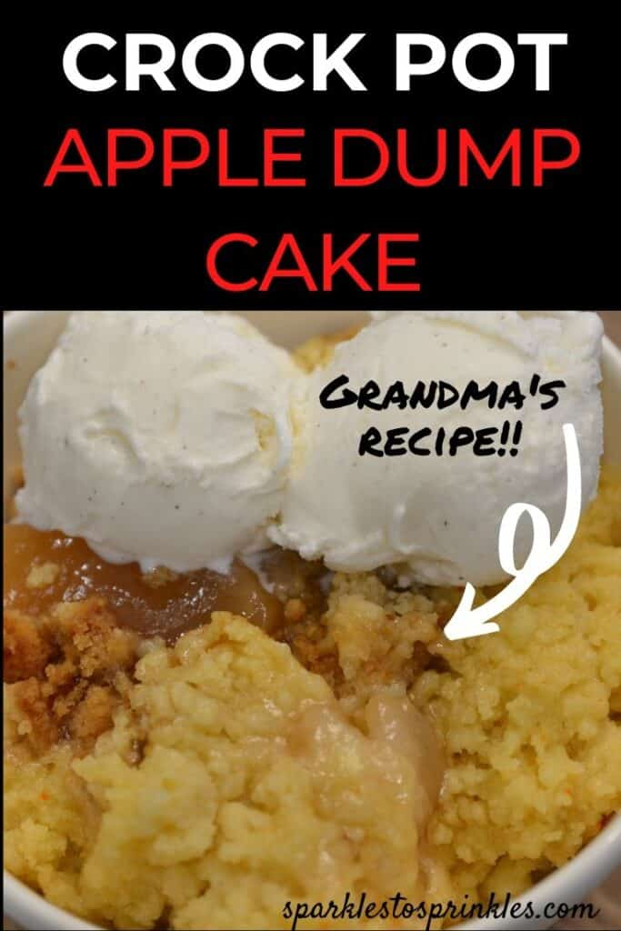 crock pot apple dump cake