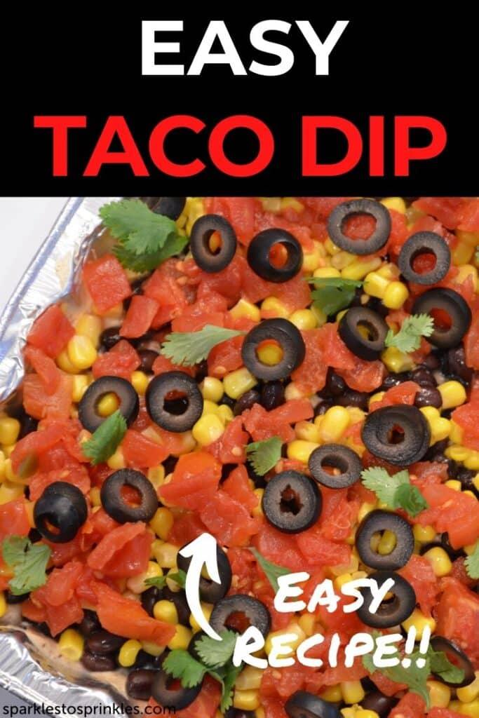 Easy Taco Dip