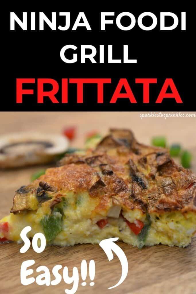 Ninja Foodi Grill Frittata