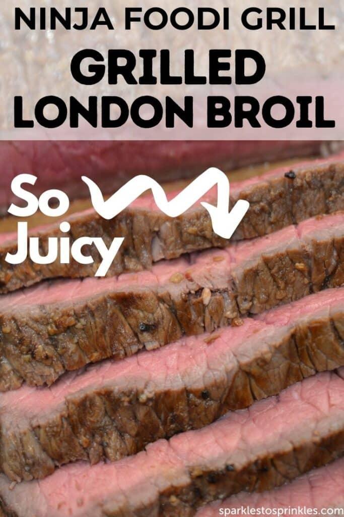 ninja foodi grill grilled london broil