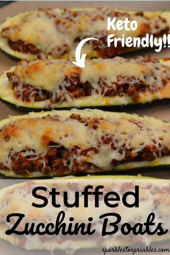 stuffed zucchini boats