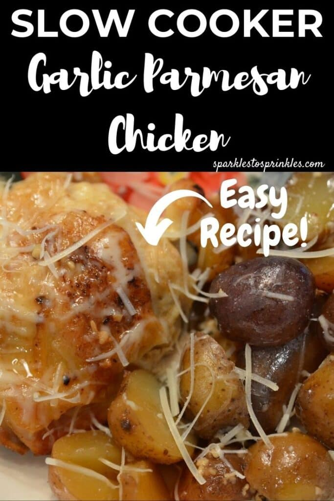 Slow Cooker Garlic Parmesan Chicken