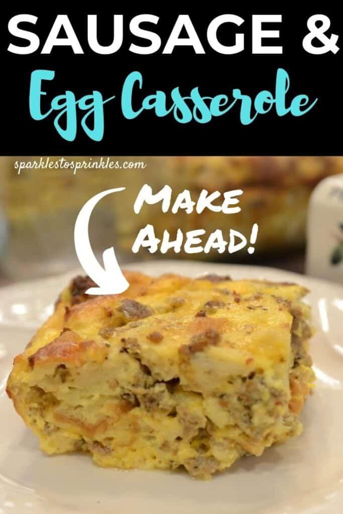 Sausage and Egg Casserole