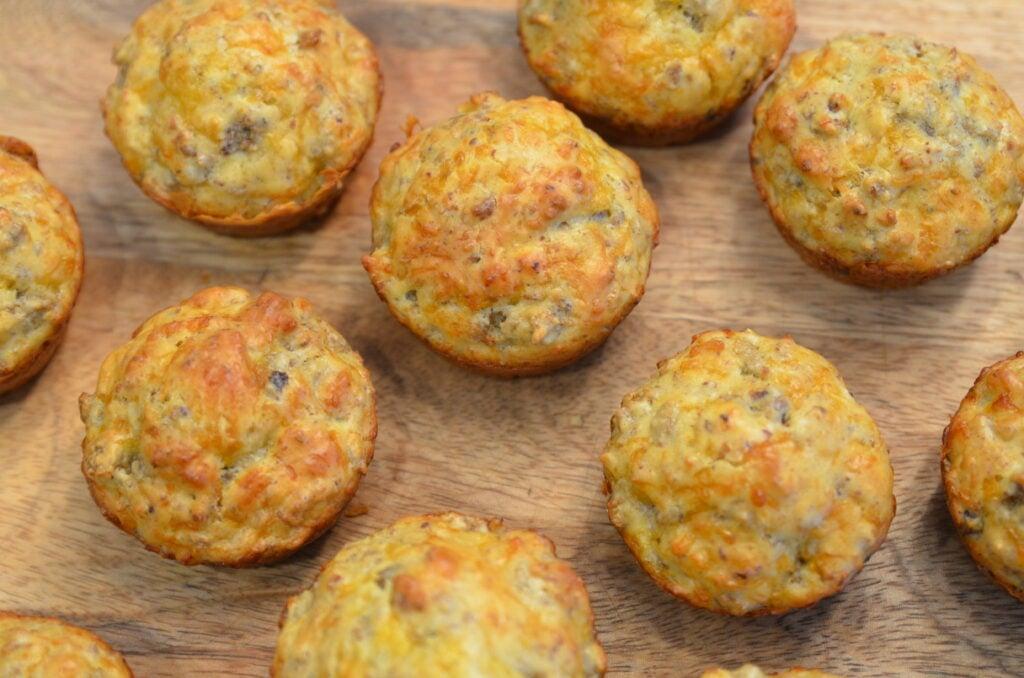 bisquick sausage muffins
