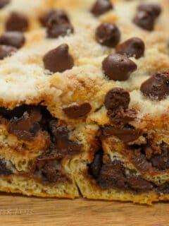 chocolate twist bread