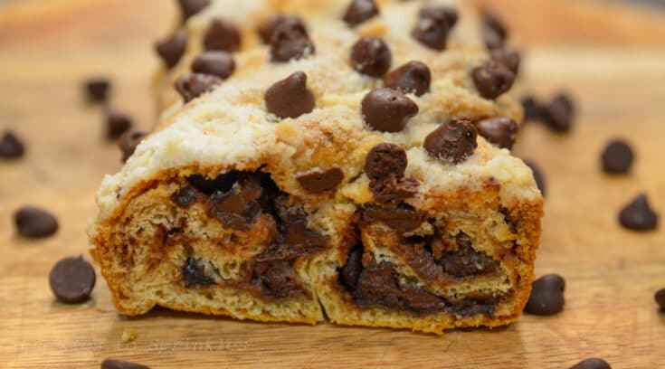chocolate twist bread