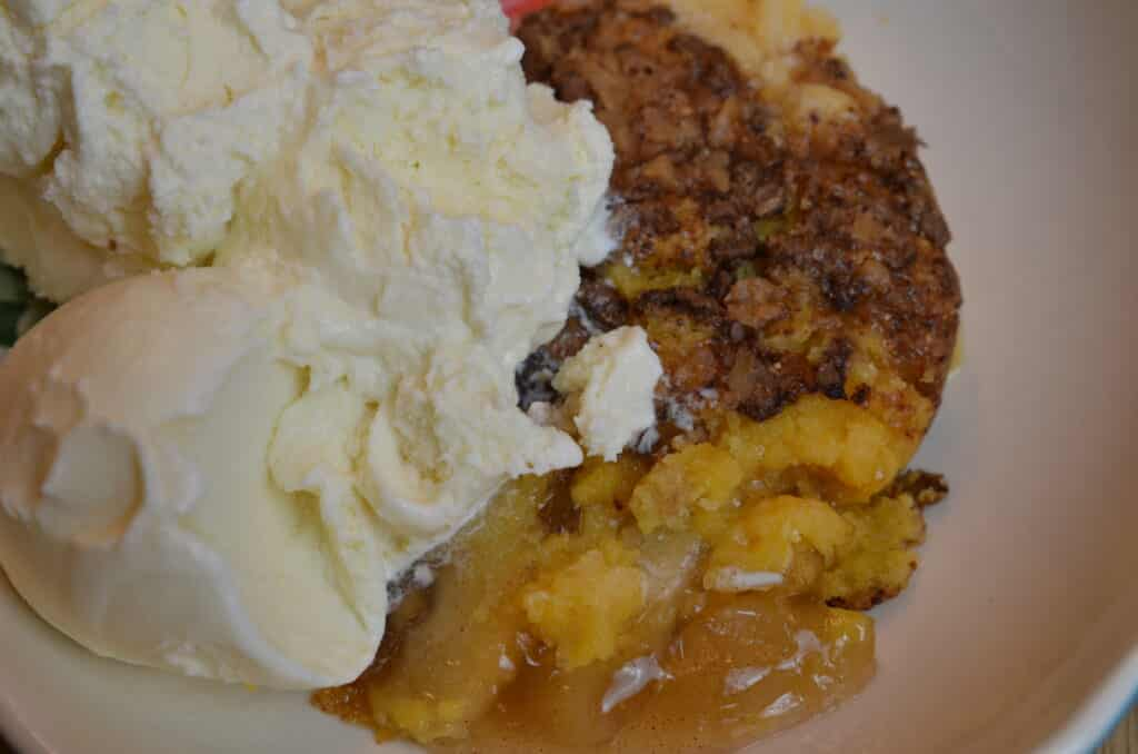 Apple Toffee Dump Cake