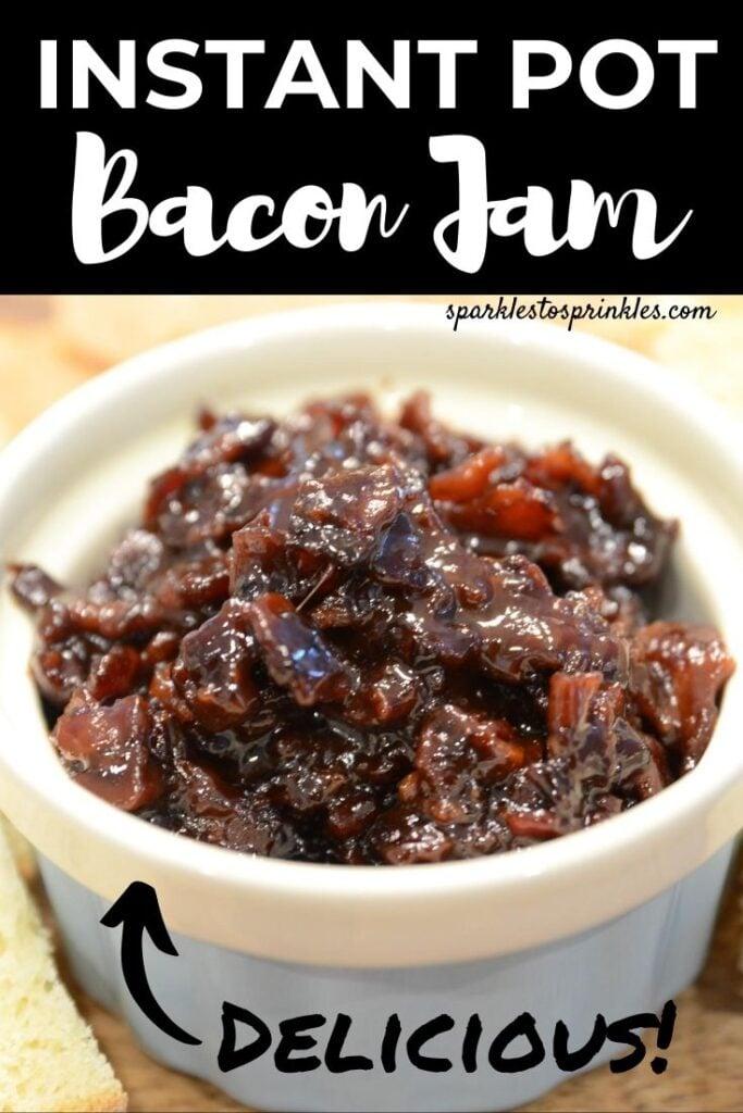 instant pot bacon jam