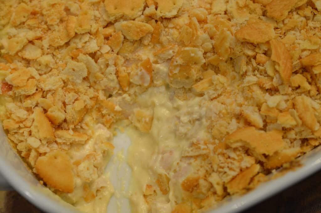 ritz cracker casserole