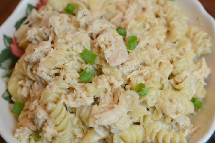 crock pot olive garden chicken pasta