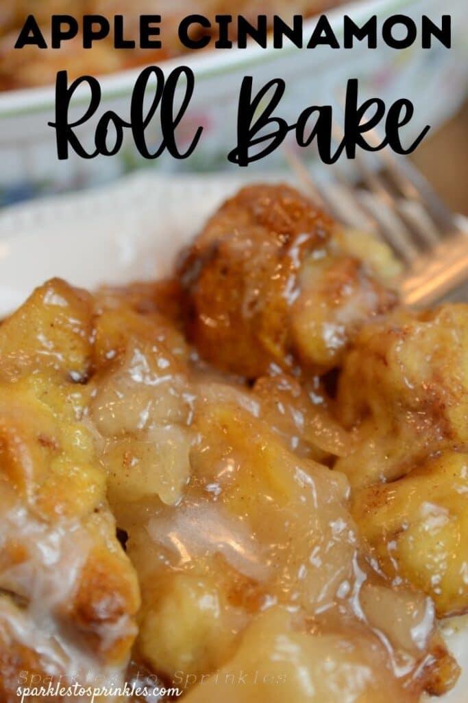 Apple Cinnamon Roll Bake