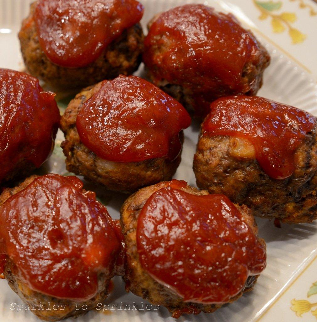 instant pot mini meatloaf bites
