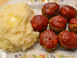 instant pot mini meatloaf bites