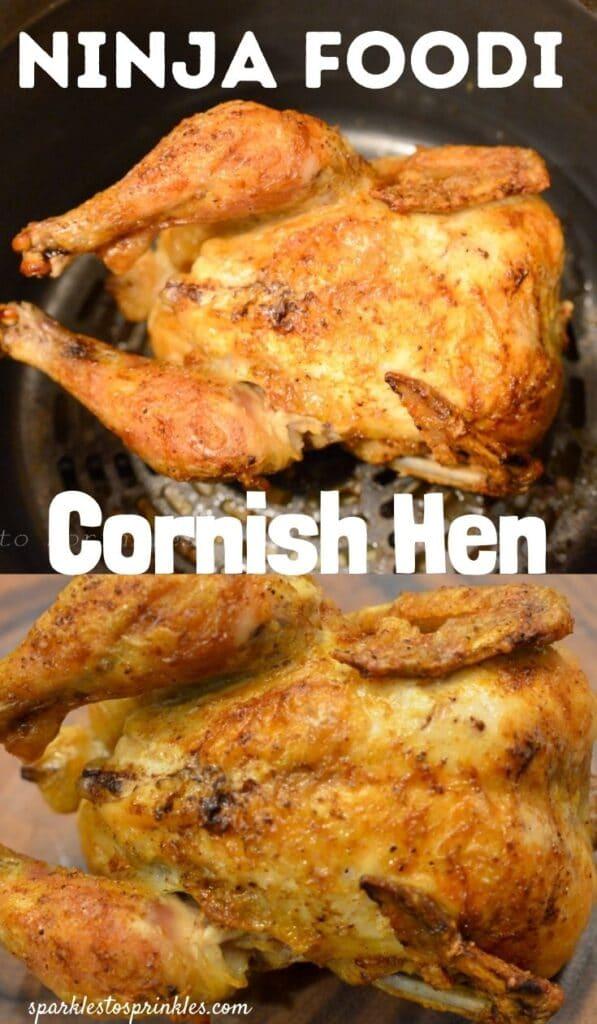 ninja foodi cornish hen