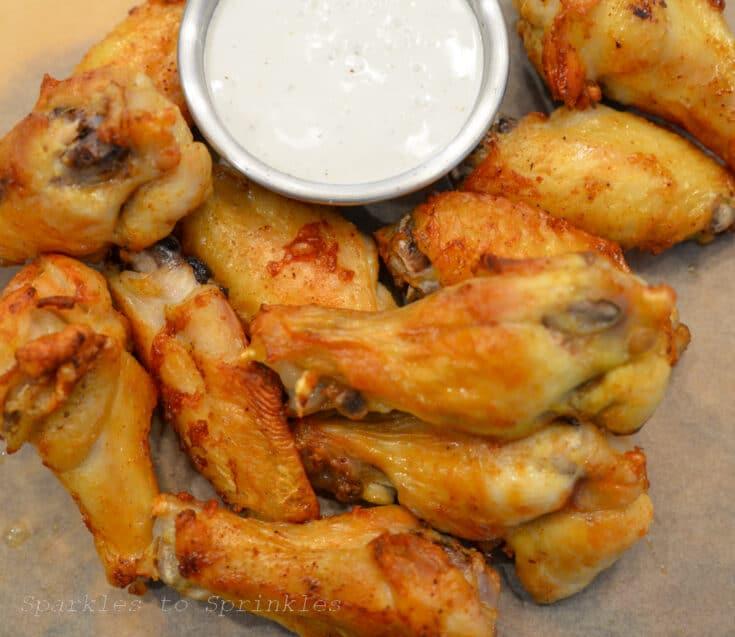 Ninja Foodi Grill Crispy Chicken Wings