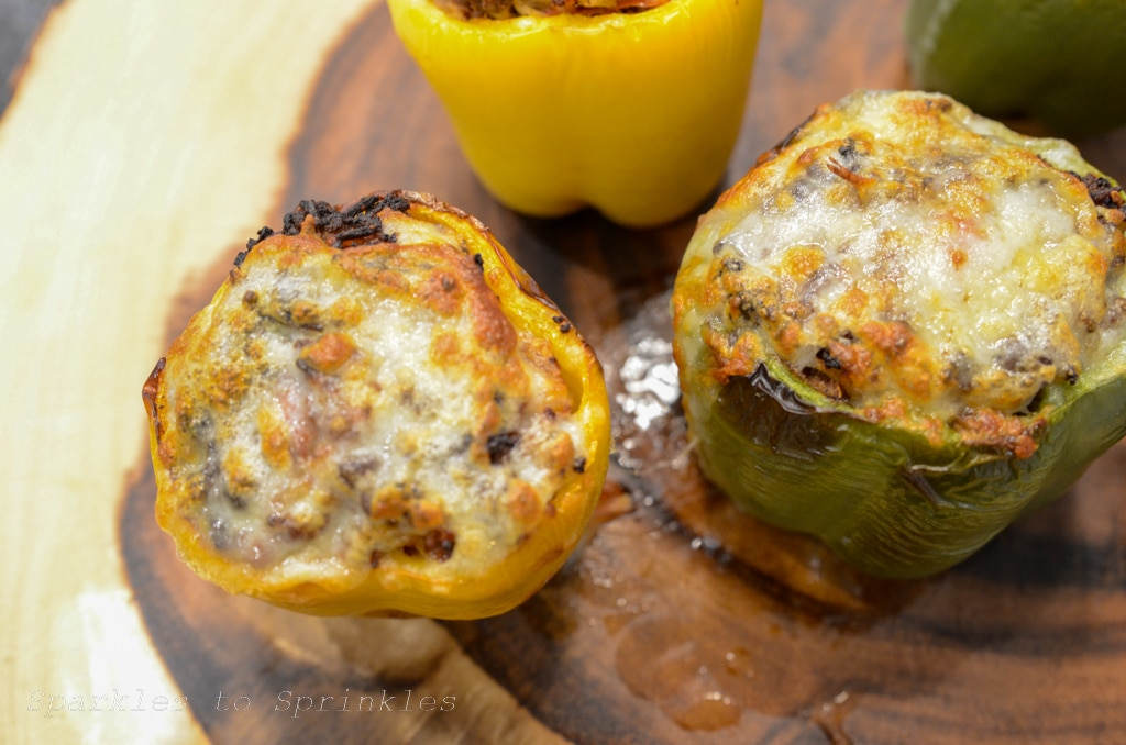 ninja foodi grill stuffed peppers