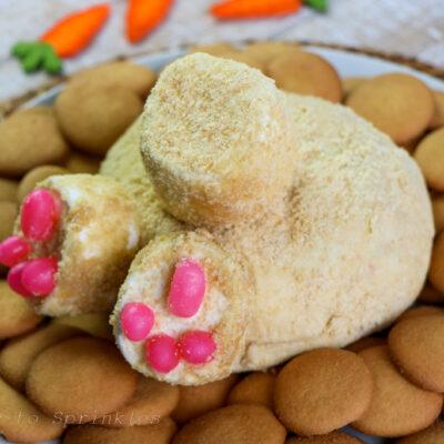 Bunny Butt Funfetti Dessert Cheese Ball