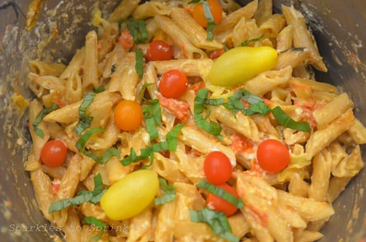 Instant Pot Tik Tok Tomato & Feta Pasta