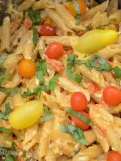TikTok Tomato & Feta Pasta