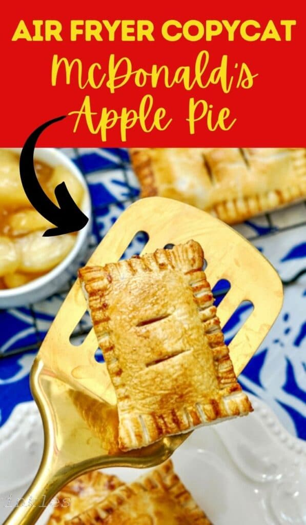 air fryer copycat mcdonalds apple pie pin