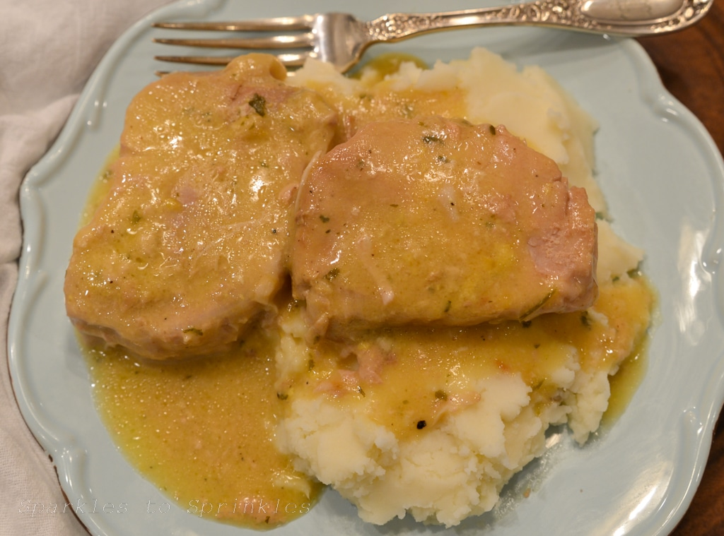 crockpot ranch pork chops