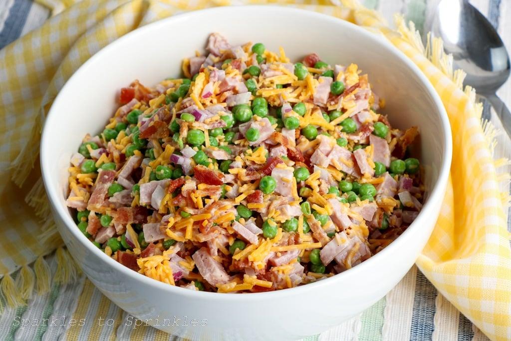 ham and pea salad