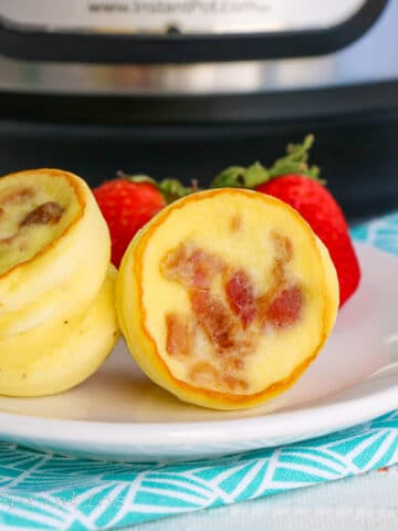 Instant Pot Starbucks Copycat Bacon Gruyere Egg Bites