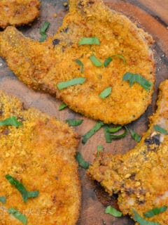 air fryer breaded pork chops
