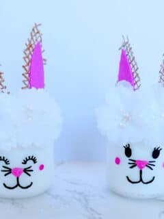 Easter Bunny Jar Craft