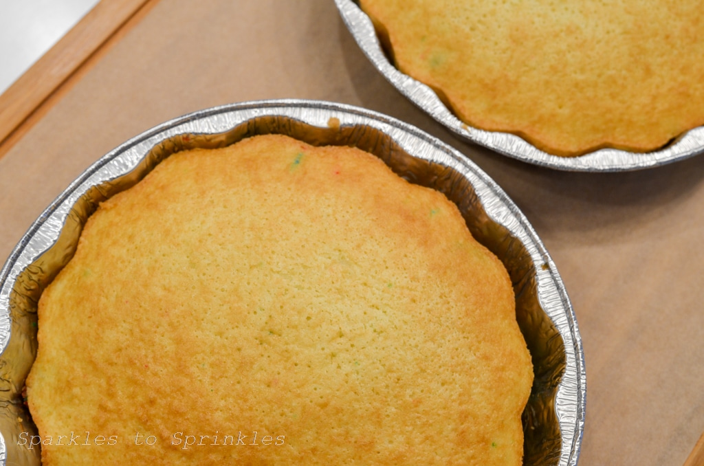 bake two round cakes